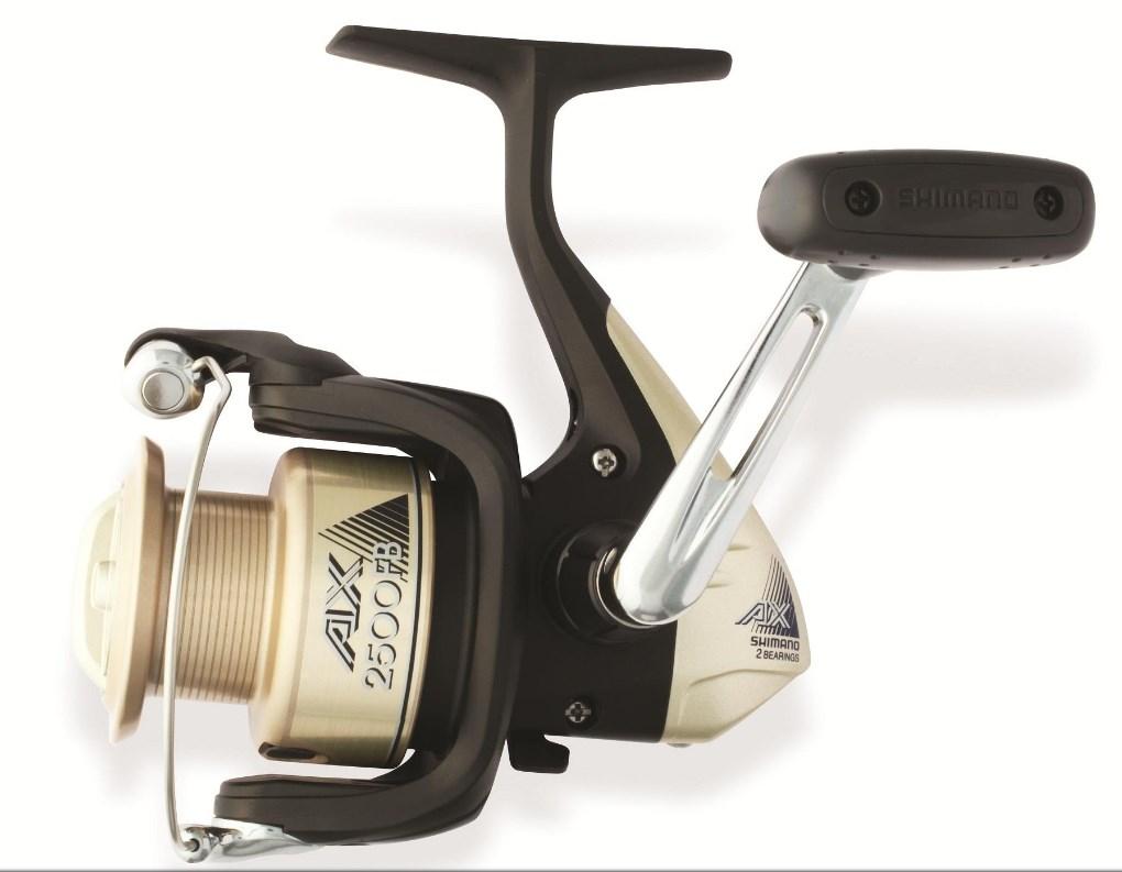Катушка Shimano AX-2500FB AX1000FBGR (123478)Катушки безынерционные<br>Новая катушка Shimano AX 2500 FB создана для начинающих рыболовов и имеет невероятно низкую для брендовой катушки Shimano цену.<br>