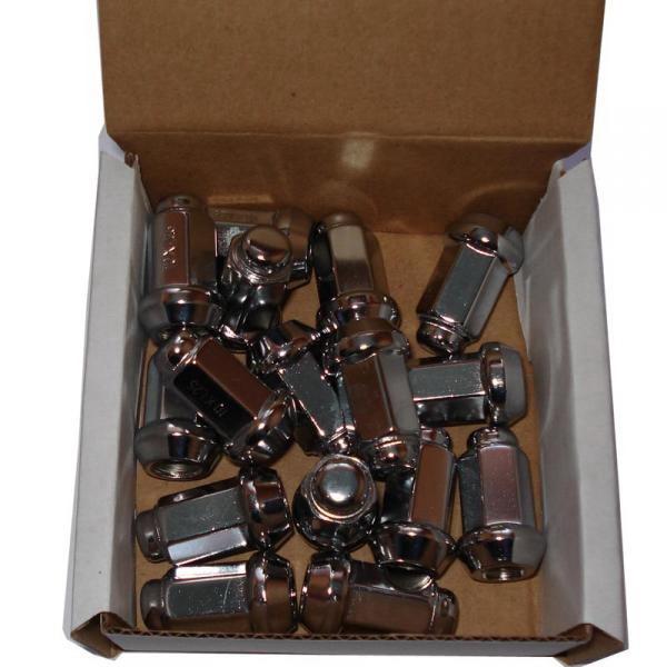 ГайкаITP 10mm x 1.25 TP Tapered Chrome Lug Nut - BOX OF 16Запасные части<br>Конусная хромированная гайка с диаметром резьбы 10 мм. Предназначена для дисков ITP SS Alloy с расстоянием между болтами 4х110 и 4х115.<br>