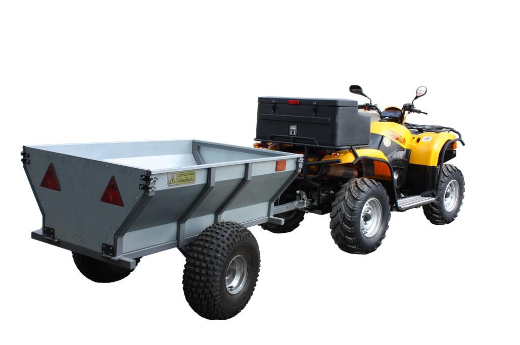 Прицеп Allest ATV для квадроциклов (одноосный)Запасные части<br>Прицеп для квадроцикла одноосный предназначен для перевозки грузов квадроциклами и другой ATV техникой. Масса груза не должна превышать 350 кг.<br>