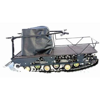 Мотобуксировщик Paxus 500 с двигателем 9 л.с. Китай генератор, фара композит  1380* 500мм. (Подвеска: катки)Мотобуксировщики<br>Мотобуксировщики - это оптимальное средство малой механизации для перевозки на санях, волокушах или лыжах людей, а также небольших грузов по снежному и ледяному покрову. На мотобуксировщиках Paxus используются только качественные и проверенные временем дв...<br>