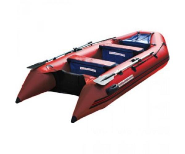 Надувная ПВХ лодка Nissamaran TORNADO 290 с пайолом, цвет красный