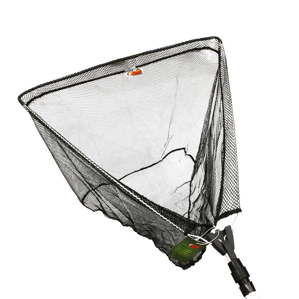 Подсачек Trout Pro складной в чехле (AA-40121), серый треугольникПодсачеки<br>Подсачек Trout Pro складной в чехле (AA-40121), серый треугольник<br>