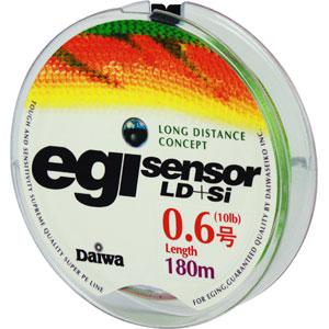 Леска плетеная Daiwa Egi Sensor LD + SiПлетеные шнуры<br>Технология Evo Silicone уменьшает коэффициент динамического торможения  на 20%, способствует более дальним забросам.<br>