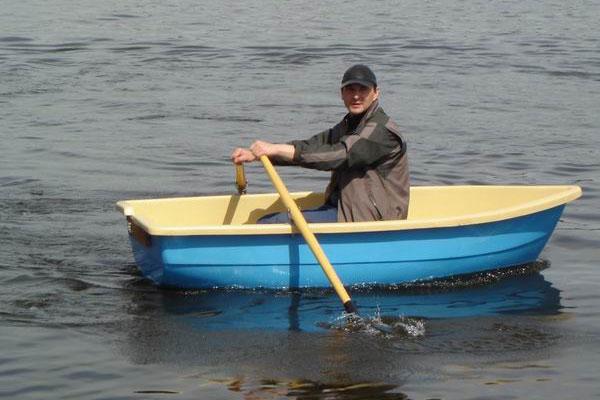 как сделать одноместную лодку видео