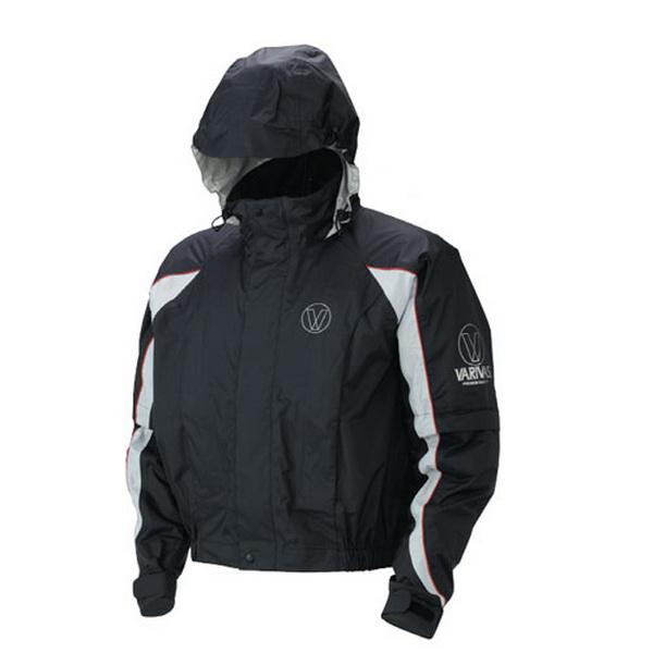 Куртка Varivas VARS-06 Dry Armour Short Rain Jacket, Black, LL (82104)