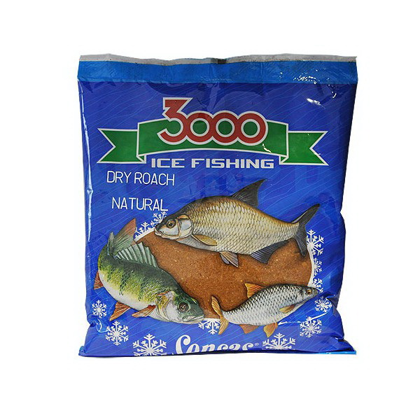 Прикормка Sensas зимняя сухая 3000 Roach 0,5кгПрикормки<br>ассыпчатая сухая прикормка специально разработана для ловли плотвы. Обладает светло-коричневым оттенком, набухает при замешивании.<br>