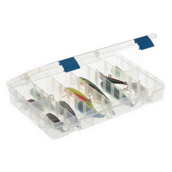 Коробка Plano 2-3600-00Коробки<br>Коробка для рыболовных принадлежностей, выполнена из ударопрочного пластика, с надежными запорами.<br>