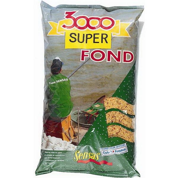 Прикормка Sensas 3000 Fond 1кгПрикормки<br>Высококачественная смесь, ориентированная на быстрое привлечение рыбы в зону ловли. В ее состав входят семена крупного помола.<br>