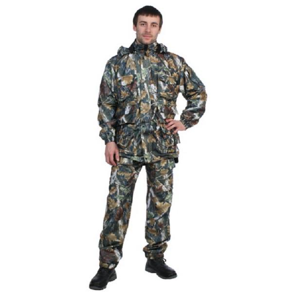КостюмПатронСталкер (ПВО, Alova, рис.022, р.88-92, рост 170-176) (81173)Костюмы/комбинезоны<br>Зимний маскировочный костюм для охоты и рыбалки. Состоит из комбинезона и штанов.<br>