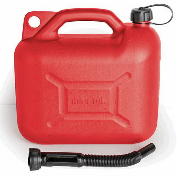 Канистра Техномарин для бензина пластм., 10л AC-110Канистры<br>Отличная канистра, емкостью 10 литров, предназначена для хранения и транспортировки бензина. Изделие выполнено из прочной высококачественной пластмассы в красном цвете.<br>