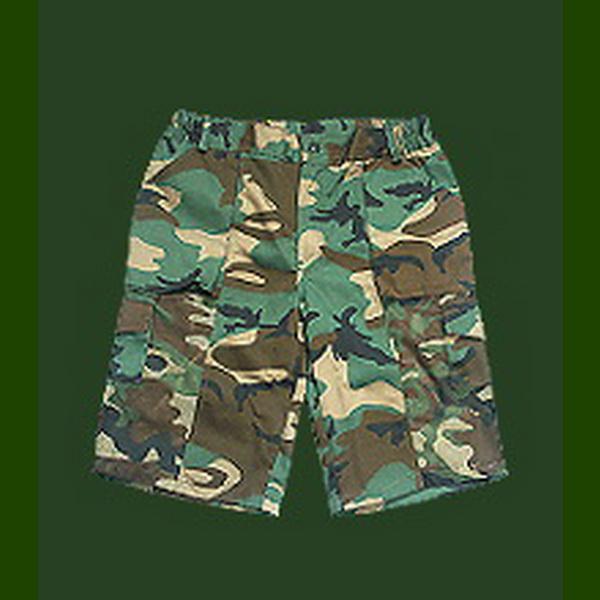 Шорты ХСН (хаки) (50-52)Брюки/шорты<br>Шорты для летнего времени года. Изготовлены из плащевки с содержанием хлопка.<br>