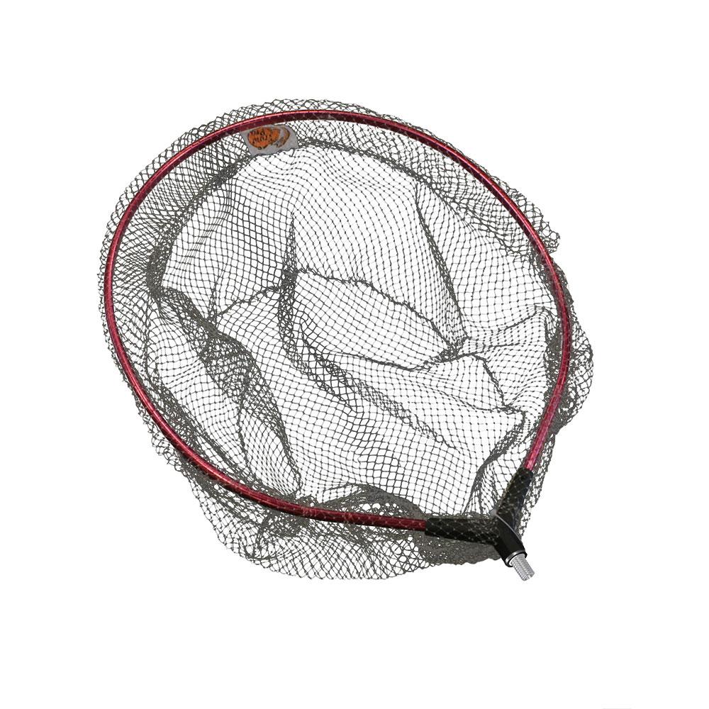 Подсачек Trout Pro ( IMS-4535 ), розовый овалПодсачеки<br>Подсачек Trout Pro, серебристая трапеция, ячейка - 6 мм<br>