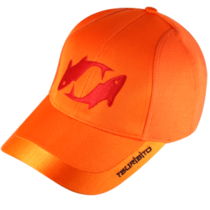 Бейсболка Tsuribito, цвет оранжевый