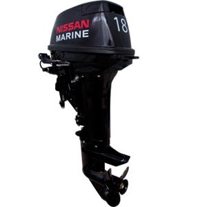 Лодочный мотор 2-х тактный NISSAN MARINE NS 18 E2  EP1Подвесные моторы<br>Лодочный мотор Nissan Marine NS 18 E2 EP1 (мощностью 18 л.с.) - надёжный и экономный лодочный мотор. Сбалансировонность веса этого мотора и удобные ручки позволяют транспортировать его и устанавливать на лодку даже одному человеку. Nissan Marine NS 18 - э...<br>