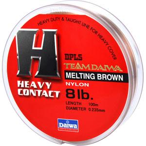 Леска Team Daiwa Line Heavy Contact 8Lb (7322)Монофильные лески<br>Оптимальный баланс низкой растяжимости и высокой чувствительности<br>