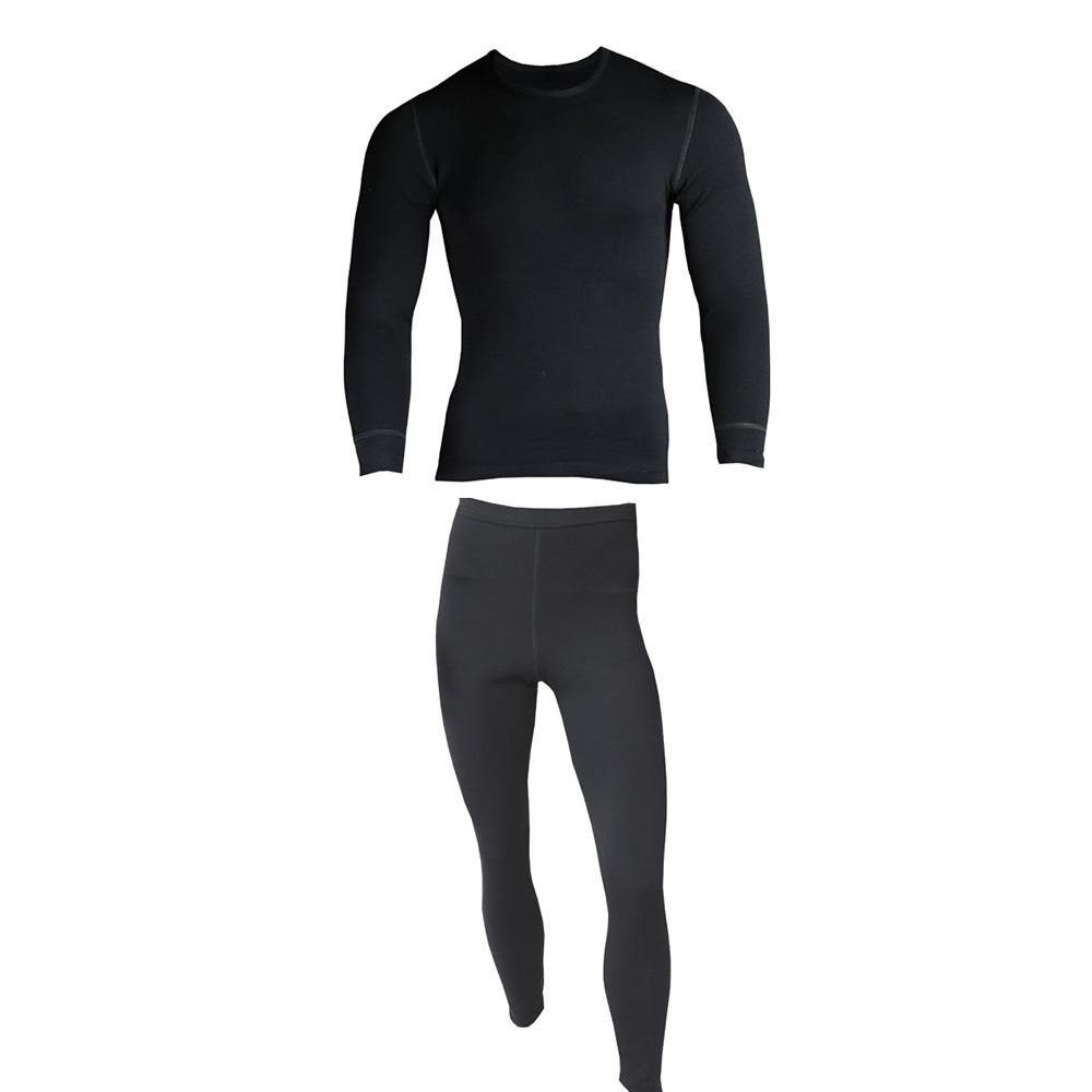 Комплект Montero мужской МPH рL цвет:черный (106612)Комплекты термобелья<br>Montero PrimaLoft Hybrid Футболка мужская с длинным рукавом+Кальсоны полная длина<br>