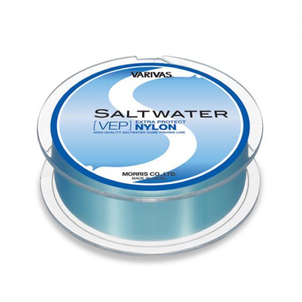 Леска Varivas Salt Water VEP NYLON 150M 12LB (95260)Монофильные лески<br>Прочная флюорокарбоновая леска от известного бренда Varivas. Одинаково хороша как основная на безынерционных или мультипликаторных катушках, так и в качестве поводка.<br>