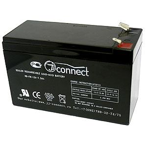Аккумулятор JJ-CONNECT 12V-7.0AH