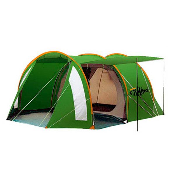 Палатка Holiday 4-х мест. Fishing Trout 4Палатки<br>Четырехместная палатка, характеризующаяся особой практичностью и надежностью. Имеет два входа и тамбур.<br>