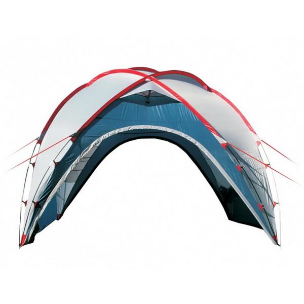 Тент Canadian Camper Space One (цвет royal) (высота 220см) (стойки фибер)Шатры и тенты<br>Тент Canadian Camper SPACE ONE – универсальная моделей для любителей активного отдыха. За счет свой формы, шатер очень устойчив к порывам ветра. А внутри тента имеются карманы-органайзеры для хранения вещей.<br>