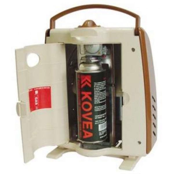 Обогреватель Kovea газовый KH-0203Обогреватели газовые <br>Газовый портативный инфракрасный обогреватель с пьезоподжигом для палатки, салона автомобиля или небольшого помещения.<br>