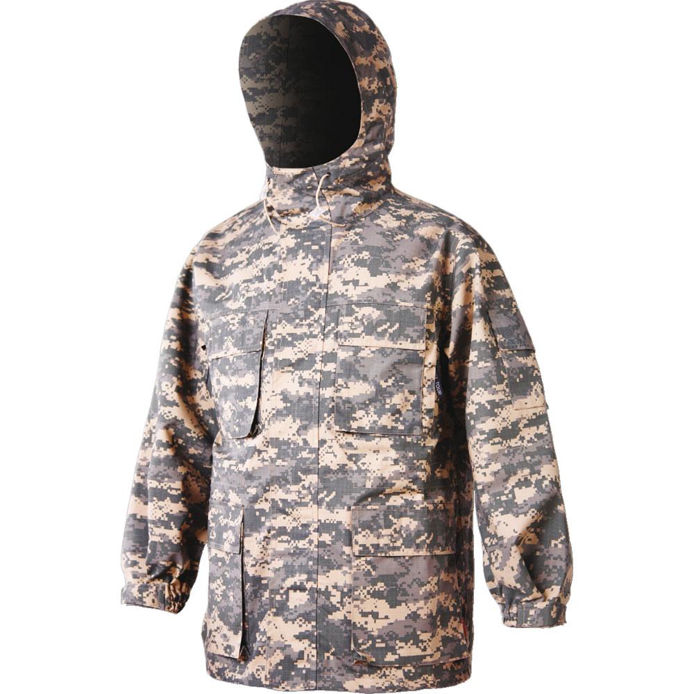 Куртка NovaTour Лес км диджитал серый XXL/60-62, 43169-609-XXL (88091)Куртки<br>Тёплая и удобная, комфортная и практичная, в ней Вы не будете чувствовать скованности в движениях. Куртка оснащена капюшоном с козырьком, большим количеством карманов, манжеты на липучках, а низ куртки регулируется шнуровкой.<br>