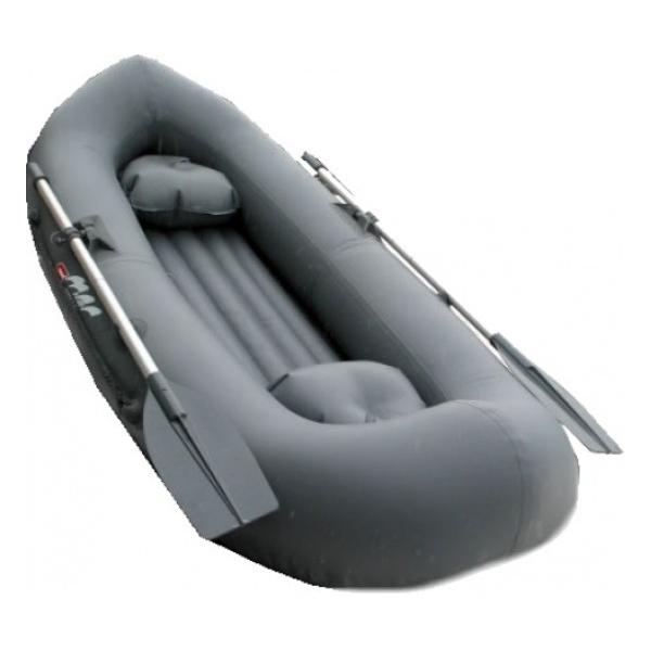 Надувная лодка Мнев Вуокса V-240 серый