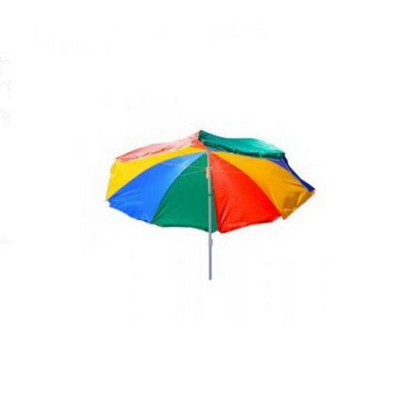 Зонт GreenWay солнцезащитный с чехломЗонты<br>Солнцезащитный зонт, который отлично защитит вас, как в летнюю жару от знойного солнца, так и от проливного осеннего дождя. Он спасет вас на пикнике, на даче, на рыбалке.<br>