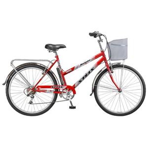 Велосипед Stels 26 Navigator-250 Gent/LadyВелосипеды Stels<br>Городской велосипед, предназначенный для катания по ровным дорогам. Стальная рама, жесткая стальная вилка. Установлено навесное оборудование начального уровня Shimano Tourney. Стальной усиленный багажник с зажимом, корзинка, звонок, насос. 7 скоростей.<br>