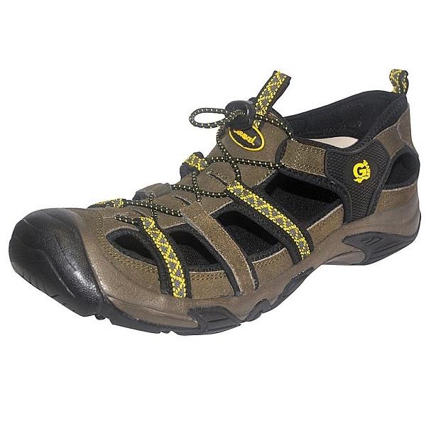 Сандалии NovaTour Трейс разм.42 цвет темно-коричневый (63336)Сандалии и сабо<br>Универсальные трекинговые сандалии с защищенным мысом и прочной подошвой. Изготовлены из комбинации кожи и замша. Надёжно фиксируют стопу. Сандалии предназначены для использования в жаркую погоду.<br>