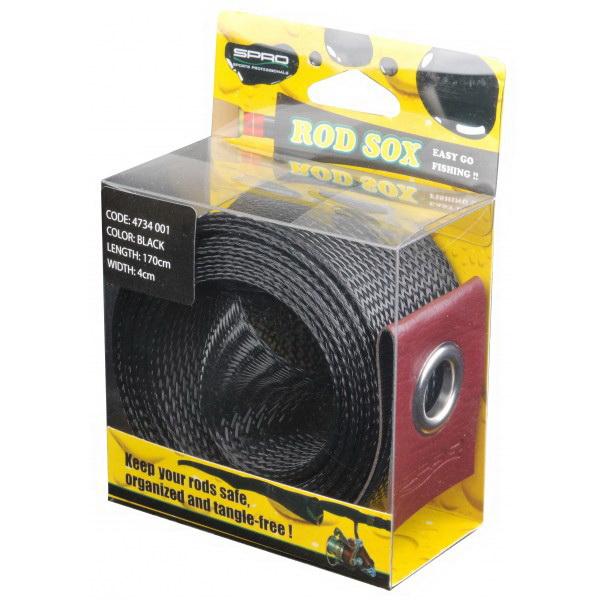 Чехол Для Удилищ Spro Rod Sox Black 170см. X 4см. 6X1 St.