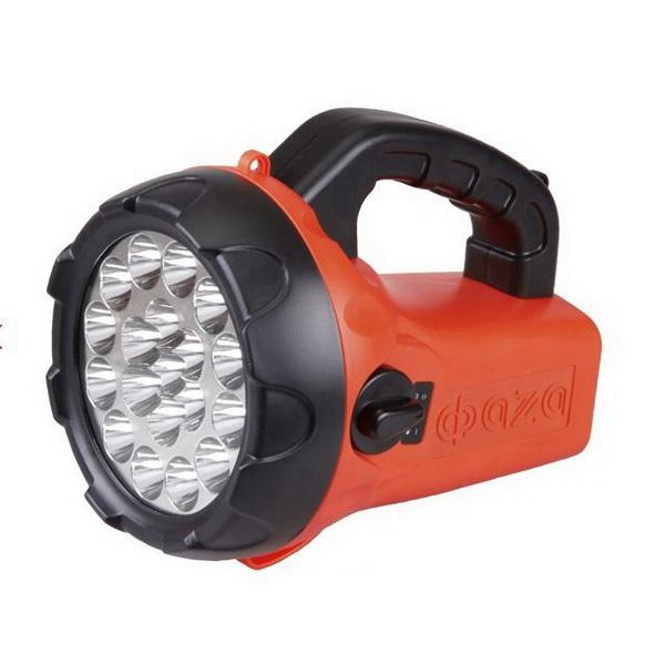 Фонарь Фaza AccuF6-L19Фонари ручные<br>Фонарь – прожектор на аккумуляторах. Свечение происходит 19 яркими светодиодами.<br>