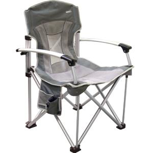 Складное кресло с жесткими подлокотниками Adrenalin Duke ComfortСтулья, кресла складные<br>Практичное складное кресло с жесткими подлокотниками и держателем-подстаканником.<br>