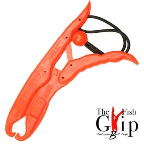 Захват FishGrip челюстной GameFish, длина 25 см (FishGrip-ORIGINAL) (Orange)Захват для рыбы<br>Полезным аксессуаром для рыбной ловли является Lip Grip (с английского челюстной захват). Это специальное приспособление для извлечения рыбы из воды без помощи подсака или багра. При соблюдении вовремя рыбной ловли принципа поймал-отпусти захват – это...<br>
