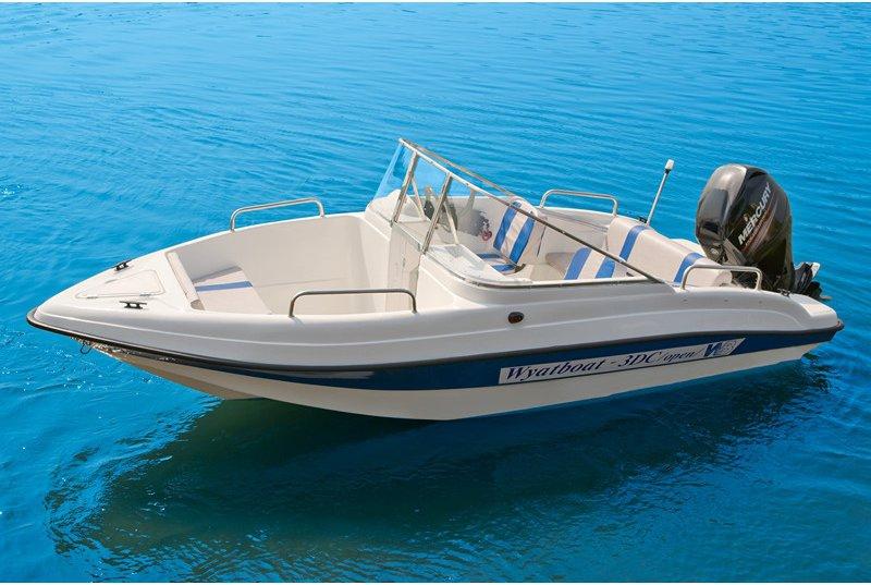 лодка wyatboat 3dc