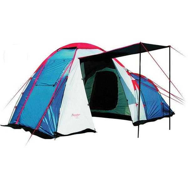 Палатка Canadian Camper Hyppo 4 (цвет royal)Палатки<br>Трекинговая палатка для туризма с небольшим весом. Модель очень простая в установке, вместительная и комфортная<br>