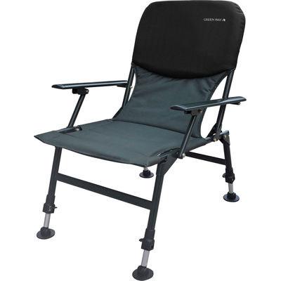 Кресло GreenWay раскладное, с неопреновой спинкой (сумка в комплекте) 001-HYC-ALWСтулья, кресла складные<br>Высококачественное неопреновое полотно не пропускает воздух и воду. Обладает низкой впитывающей способностью - не более 2% от собственного веса. Может применяться при температурах от -50C° до 90C°.<br>