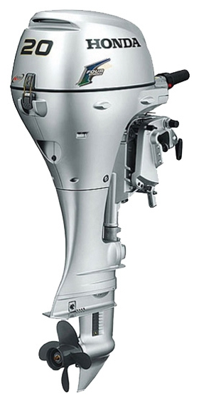 Лодочный мотор HONDA BF20D3 SRTUПодвесные моторы<br>Этот лодочный мотор прекрасно подойдет для водных прогулок всей семьёй на лёгкой лодке или паруснике. BF 20D3 SRTU имеет обычный дейдвуд и комплект дистанционного управления.<br>