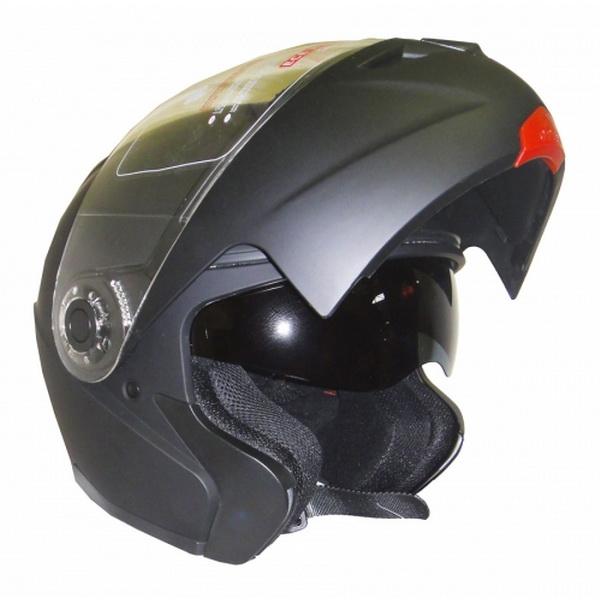 Шлем UMC Н910,размер XL,модуляр блестящий черный (84781)Шлемы и маски<br>Превосходный аэродинамичный шлем с высокими показателями противоударной защиты и продуманной вентиляцией.<br>