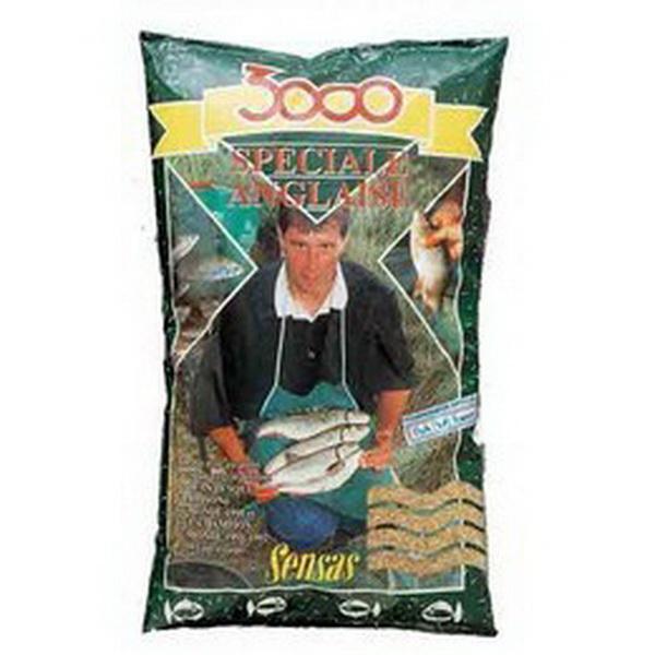Прикормка Sensas 3000 Speciale Anglaise 1кгПрикормки<br>Высококачественная смесь, ориентированная на быстрое привлечение рыбы в зону ловли. В ее состав входят семена крупного помола.<br>