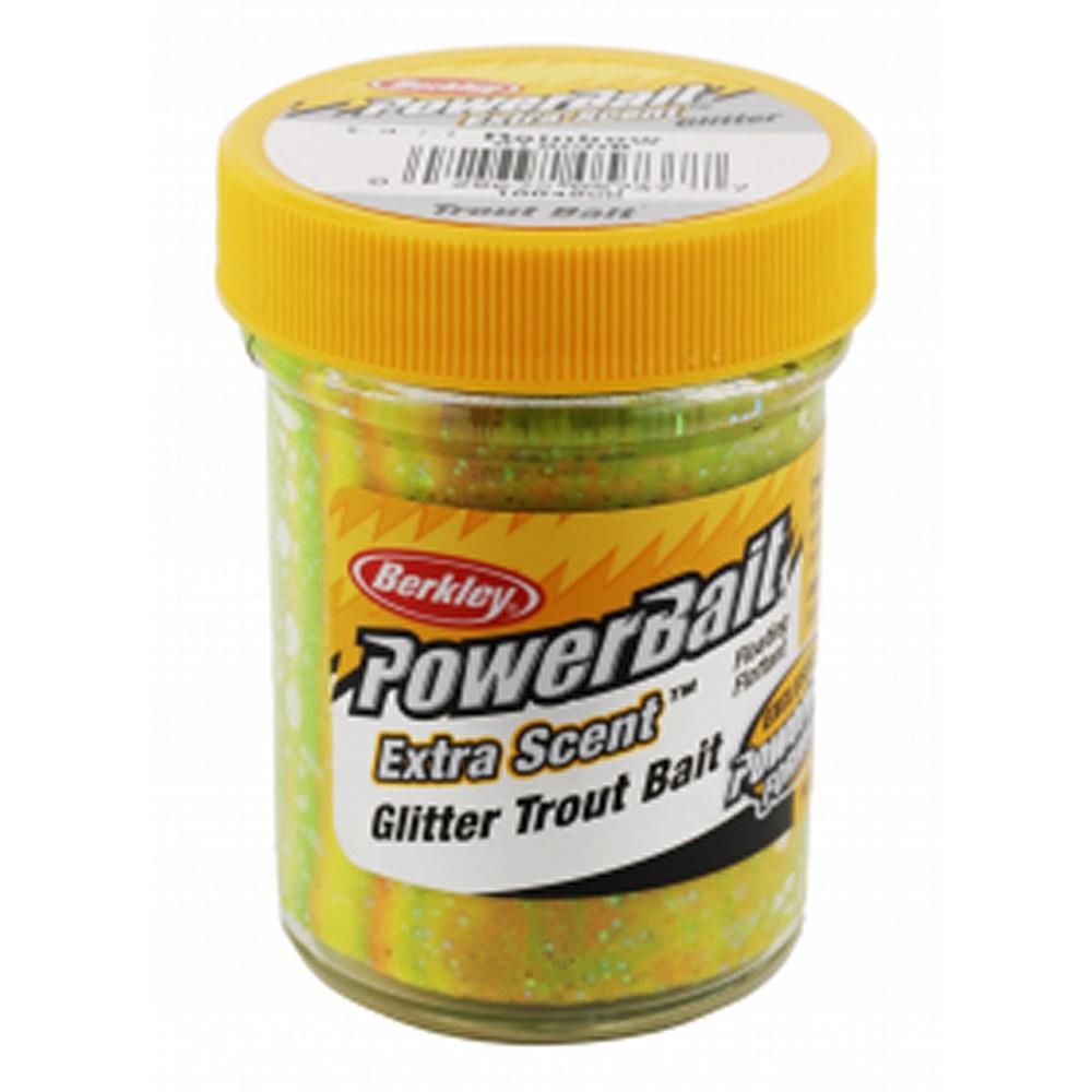 Форелевая паста Berkley Select Glitter TroutBait, 50г, цв. зеленый/оранжевый (61850)Насадки<br>Плавающая форелевая  Berkley паста рассеивает запах и усилители вкуса с ярко сверкающим блеском для отражения света, увеличивая видимость, и вызвает больше поклевок.<br>