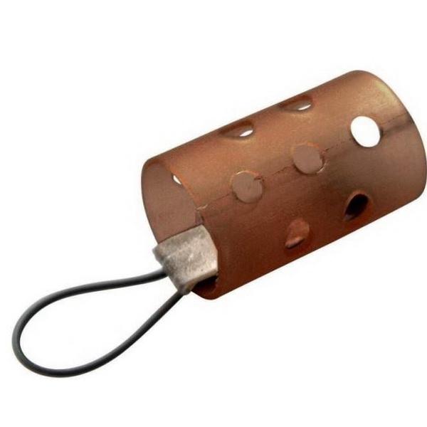 Кормушка Browning пластик с петлёй Open End 35г (57462)Фидерная и карповая оснастка<br>Классическая пластиковая кормушка для прикормок. Кормушка изготовлена из подвижных звеньев, каждое из которых может выдержать достаточно большую нагрузку.<br>