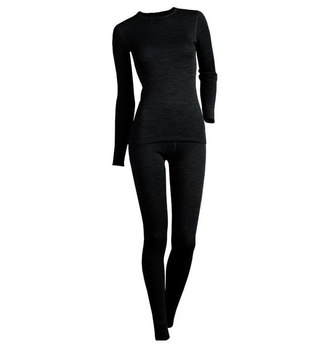 Комплект Montero женский MCLCCL рL цвет:черный (106625)Комплекты термобелья<br>Montero City Line Cotton Comfort Lady Комплект женский футболка с длинным рукавом + лосины.<br>