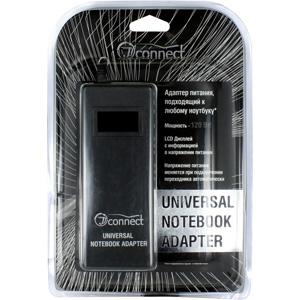 JJ-Connect Universal Notebook AdapterЗарядные устройства<br>Сетевой универсальный адаптер питания JJ-Connect Universal Notebook Adapter автоматически регулирует выходное напряжение от 15 до 24 Вольт в зависимости от модели подключаемого ноутбука. Приблизительная мощность 120 Ватт. Адаптер имеет набор разъёмов для ...<br>