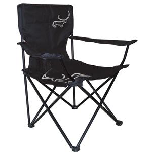 Складной стул Adrenalin Element BlackСтулья, кресла складные<br>Стул имеет прочный и легкий алюминиевый каркас, износостойкое сидение из полиэстера. На одном из подлокотников расположено отделение для стакана.<br>