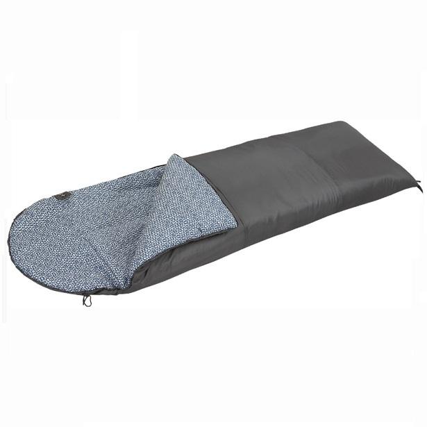 Спальный мешок NovaTour Одеяло 300Спальные мешки<br>Простая и привычная конструкция. Одеяло согреет Вас прохладной летней ночью, а подкладка из 100  х/б создаст  домашний уют.  Разъемная молния  позволяет состегнуть еще один спальник вместе в один большой. <br>