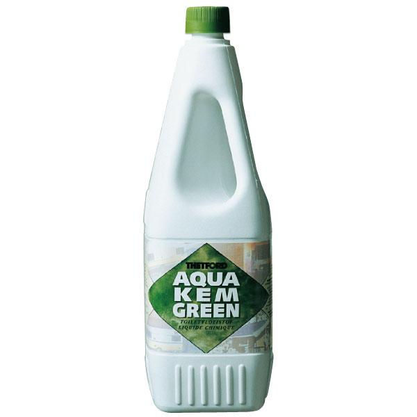 Жидкость Thetford для биотуалета Aqua Kem GreenБиотуалеты<br>биологическая туалетная жидкость (расщепитель) для использования в приемных резервуарах переносных биотуалетов фирмы Thetford. Биологическая разлагаемость поверхностно-активных веществ– 90%.<br>