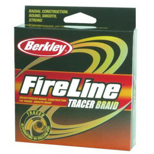 Леска плетеная Berkley FireLine Braid Tracer 0.16мм, 270м (61749)Плетеные шнуры<br>Шнур идеален для ловли спиннингом, цветная раскраска для контроля длины размотки.<br>