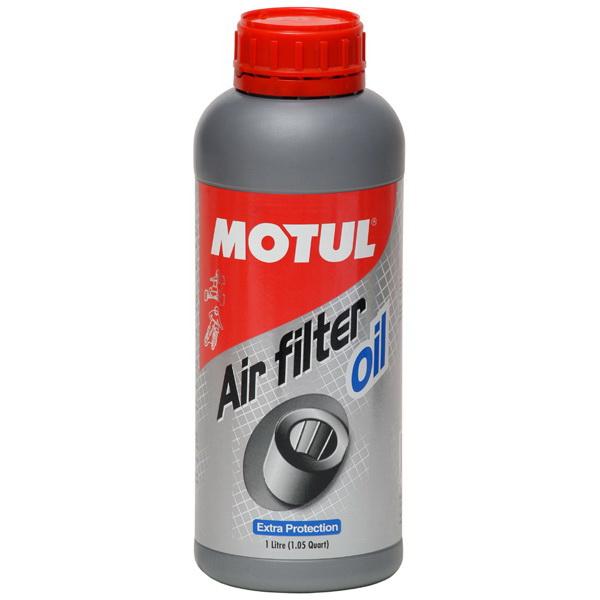 Масло Motul для воздушных фильтров Air Filter Oil (1л)Масла и ГСМ<br>Высокопроизводительное масло в спрее для воздушных фильтров, предназначено для эффективной и долговременной защиты поролоновых и нулевых фильтров от проникновения влаги, песка и пыли.<br>