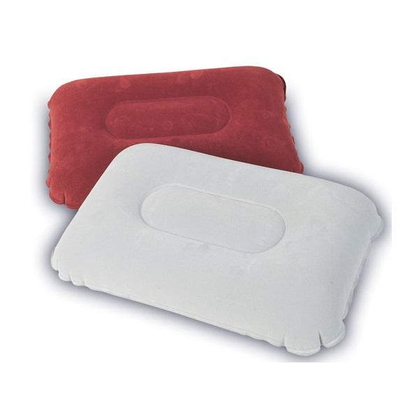 Подушка Bestway надувная Flocked Air Pillow 67121Подушки<br>Надувная подушка пригодится дома, на даче, отправляясь в путешествие, на поезде или самолете. Она обеспечит Вам надежный и комфортный сон. В спущенном виде подушка надувная выглядит не больше тетради и занимает совсем немного места. Так, что у Вас не возн...<br>